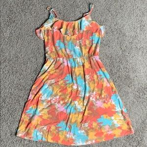 mossimo sleeveless dress colorful